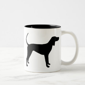 American English Coonhound Gear Two-Tone Coffee Mug
