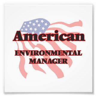 American Environmental Manager Photo Print