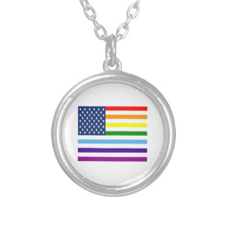 American Equality Silver Plated Necklace