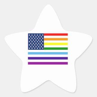American Equality Star Sticker