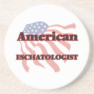 American Eschatologist Drink Coasters