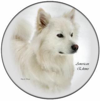 American Eskimo Art Gifts Photo Cut Outs
