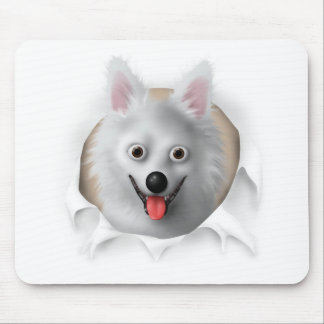 American Eskimo Busting Out Mouse Mat