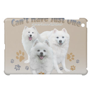 American Eskimo Can't Have Just One IPAD CASE