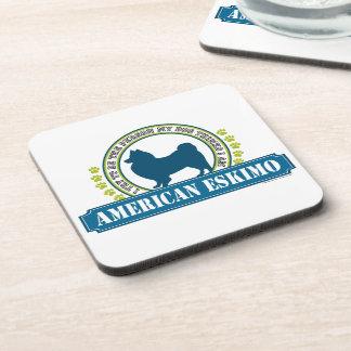 American Eskimo Coaster