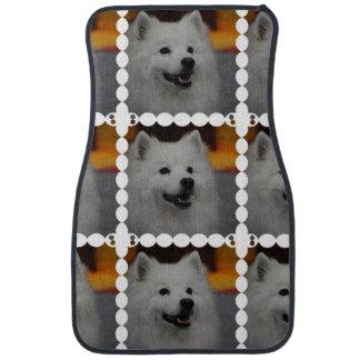 american-eskimo-dog-2.jpg alfombrilla de coche