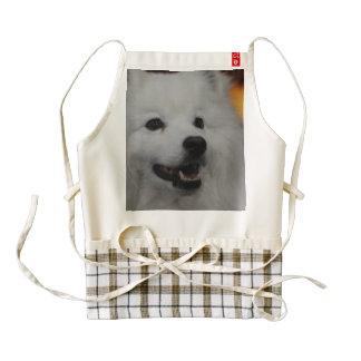american-eskimo-dog-2.jpg delantal zazzle HEART