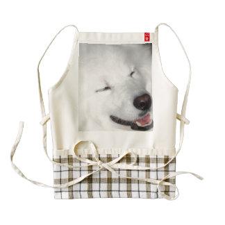 american-eskimo-dog-5.jpg delantal zazzle HEART