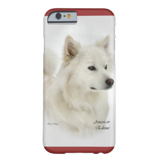 American Eskimo Dog Art Barely There iPhone 6 Case