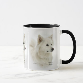 American Eskimo Dog Art Gifts Mug