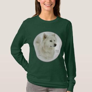 American Eskimo Dog Art Gifts T-Shirt