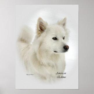 American Eskimo Dog Art Prints