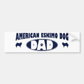 American Eskimo Dog Dad Bumper Sticker