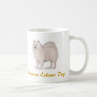 American Eskimo Dog, Dog Log Lover Galore! Coffee Mug