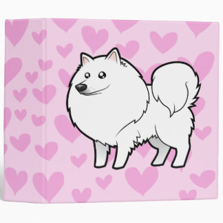 American Eskimo Dog / German Spitz Love Binder