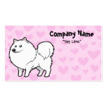 American Eskimo Dog / German Spitz Love Double-Sided Standard Business Cards (Pack Of 100)