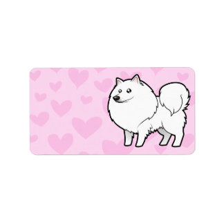 American Eskimo Dog / German Spitz Love Label