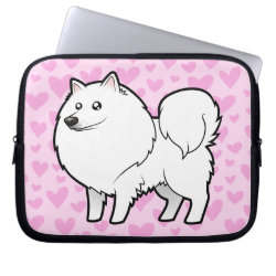 Neoprene Laptop Sleeve 10 inch with Samoyed Phone Cases design