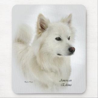 American Eskimo Dog Gifts Mouse Pad
