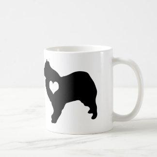 American Eskimo Dog Heart Mug
