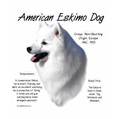 Discription of American Eskimo Dog
