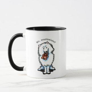 American Eskimo Dog Manipulate Mug