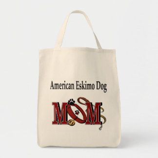 American Eskimo Dog Mom Apparel Tote Bag