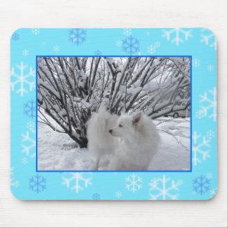 American Eskimo Dog Mouse Pad