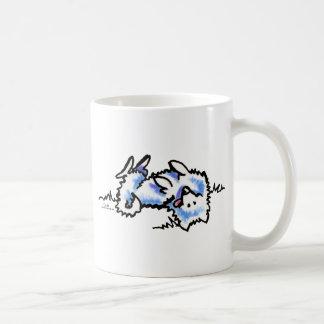 American Eskimo Dog Play Dead Coffee Mug
