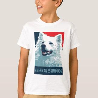 American Eskimo Dog Political Hope Parody T-Shirt