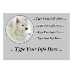 American Eskimo Dog Profile Cards profilecard