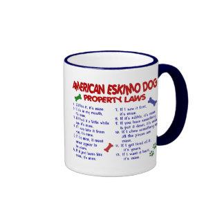 AMERICAN ESKIMO DOG Property Laws 2 Coffee Mug