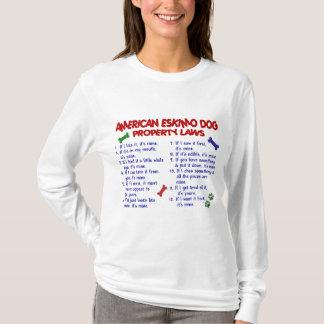 AMERICAN ESKIMO DOG Property Laws 2 T-Shirt
