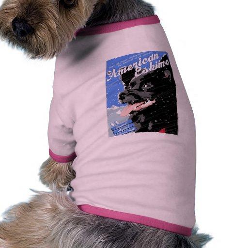 American Eskimo Doggie Tshirt