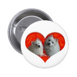 American Eskimo Dogs Buttons