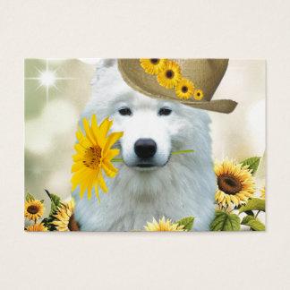 American Eskimo Flower Child Business Card