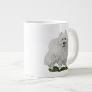American Eskimo Large Coffee Mug