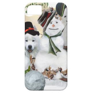 American Eskimo Let It Snow iPhone SE/5/5s Case