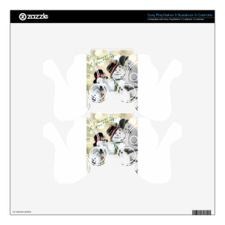 American Eskimo Let It Snow PS3 Controller Decals