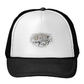 American Eskimo Let It Snow Trucker Hat