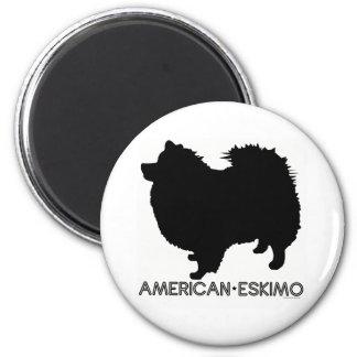 American Eskimo Magnet