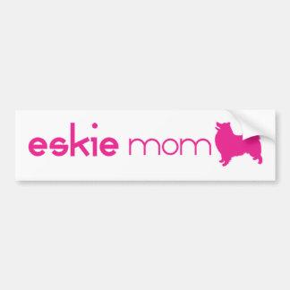 American Eskimo Mom Bumper Sticker