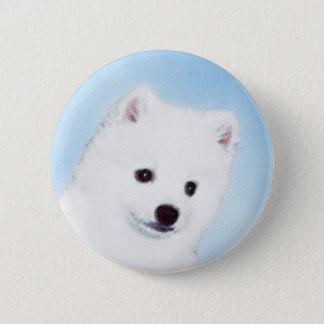 American Eskimo Pinback Button