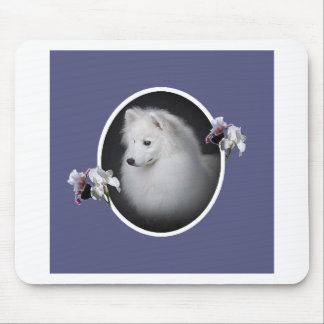 American Eskimo Pretty Face Mouse Pad