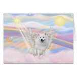 American Eskimo Spitz Greeting Cards