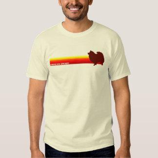 American Eskimo With Stripes T-Shirt