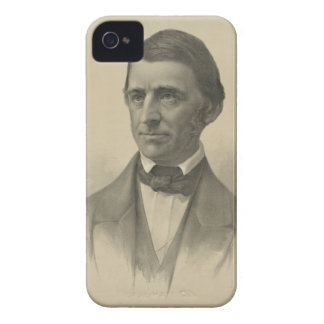 American Essayist Ralph Waldo Emerson Portrait iPhone 4 Case