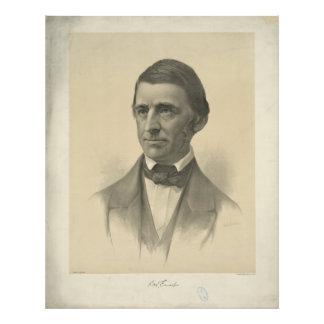 American Essayist Ralph Waldo Emerson Portrait Photo Print