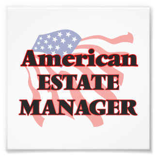 American Estate Manager Photo Print
