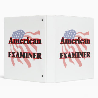 American Examiner Binder